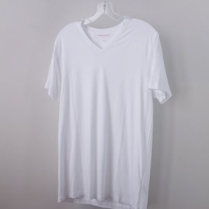 Derek Rose V Neck Modal T Shirt